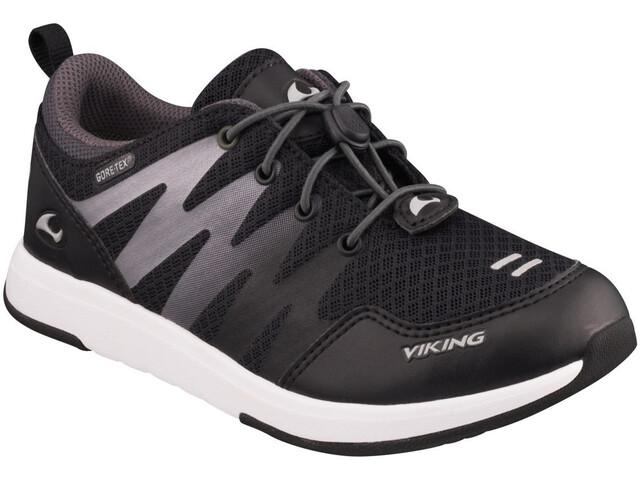 Viking Footwear Bislett II GTX Chaussures Enfant, black/charcoal